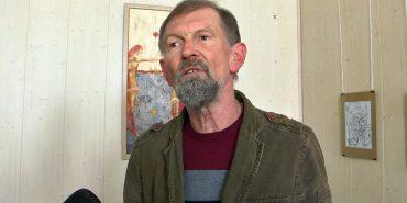Коломийський художник презентував ювілейну виставку. ВІДЕО