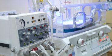 Коломийська дитяча лікарня отримала дихальний апарат від благодійників. ВІДЕО