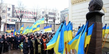 На Прикарпатті вшанували В'ячеслава Чорновола
