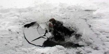 На міському озері в Коломиї під лід провалився рибалка