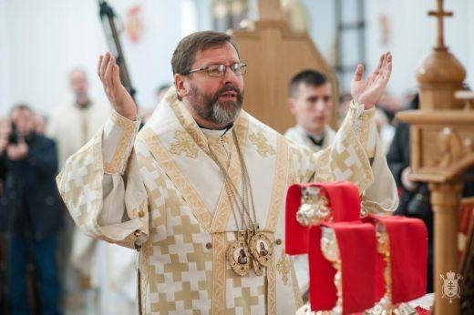 У квітні Глава УГКЦ Святослав Шевчук відвідає Прикарпаття