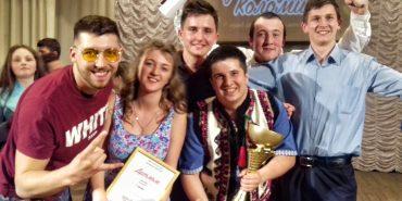 Команда індустріально-педагогічного технікуму здобула Кубок гумору Коломиї. ФОТО
