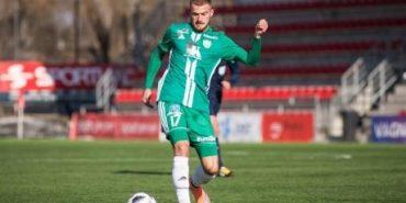 Футболіст Роман Дебелко з Коломийщини оформив хет-трик в матчі чемпіонату Естонії