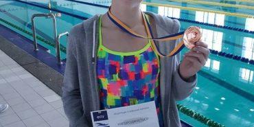 Плавчиня з Прикарпаття стала призеркою чемпіонату України