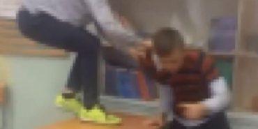 Били ногами по голові і знімали на телефон. У Росії діти побили свого однокласника, бо той родом з Прикарпаття