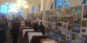 Прикарпатські художники презентували мистецький ярмарок у Лондоні