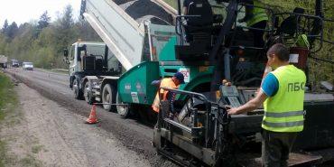 На Прикарпатті розпочався ремонт доріг державного значення