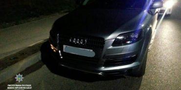 Прикарпатські патрульні знайшли авто, яке розшукував Інтерпол