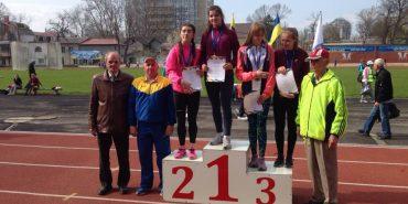 Легкоатлетка з Коломиї здобула дві золоті медалі на Всеукраїнській Гімназіаді
