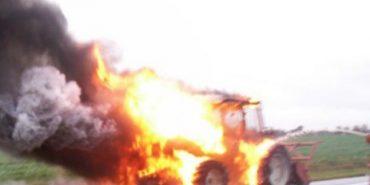 На Прикарпатті трапилась чергова пожежа