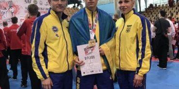 Віталій Соловей з Франківщини – чемпіон Європи з Таеквон-До. ФОТО