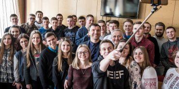 Андрій Іванчук зустрівся зі студентами Коломийського політехнічного коледжу