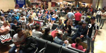 Понад 200 туристів з України вже добу не можуть вилетіти з Єгипту. ФОТО