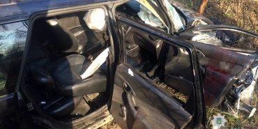 За свята у ДТП постраждало четверо мешканців Прикарпаття. ФОТО