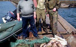 На Прикарпатті спіймали браконьєрів, які ловили рибу під час нересту. ФОТО