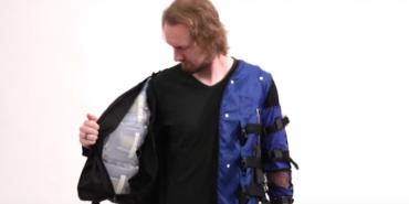 У Disney створили куртку, яка може імітувати обійми. ВІДЕО