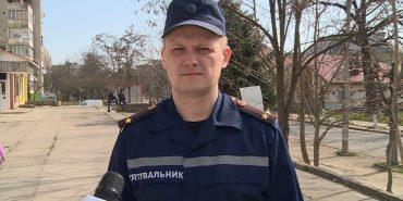 Головний інспектор Коломийського МРВ  УДСНС в області прокоментував пожежу на Коломийщині. ВІДЕО