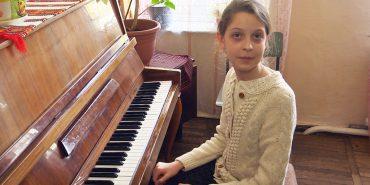 12-річна піаністка з Коломиї привезла перемогу з міжнародного конкурсу. ВІДЕО