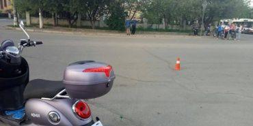 На Франківщині п'яна вагітна на скутері мало не збила кількох дітей