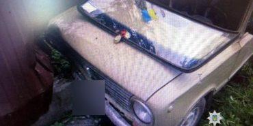 На Коломийщині юнак вкрав авто, бо хотів покататися. ФОТО