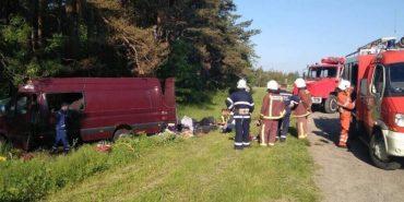 У моторошній ДТП на Львівщині загинуло 6 заробітчан, які поверталися з Чехії. ВІДЕО
