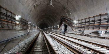 У мережі показали фото завершальних робіт найдовшого в Україні залізничного тунелю