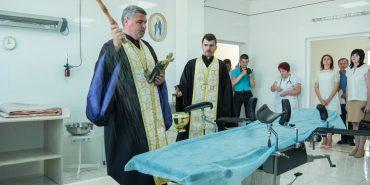 У пологовому в Коломиї відкрили відремонтований операційно-родинний блок. Родичі можуть бути присутні на пологах. ФОТОРЕПОРТАЖ