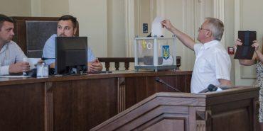 Фоторепортаж з сесії, на якій зняли Жупанського і обрали нового секретаря