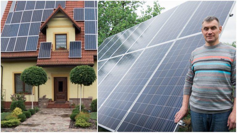 """""""Мій дім − моя фортеця"""". Бізнесмен з Городенки про те, як збудував """"теплий дім"""" з сонячними панелями. ФОТО"""