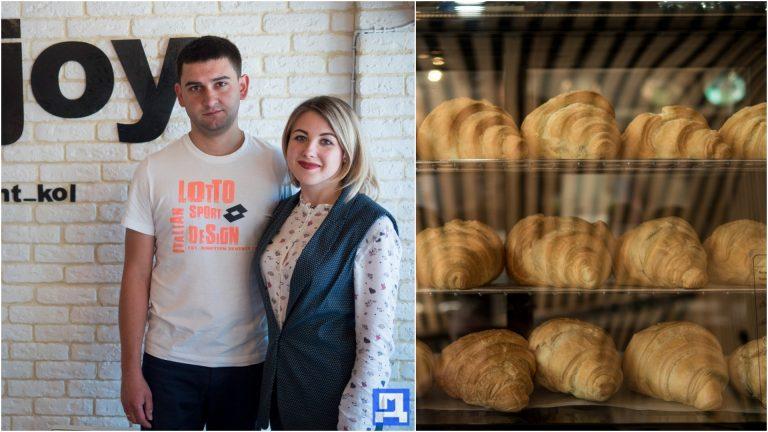 Нове місце у Коломиї. Подружжя відкрило кав'ярню з фірмовими круасанами на різний смак