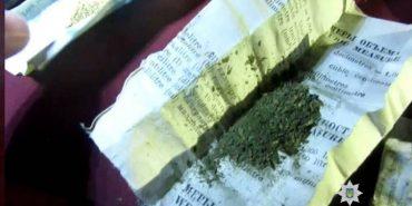 У Коломиї у водія-порушника виявили наркотики. ФОТО