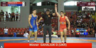 Коломийський борець Денис Сагалюк у Македонії переміг спортсменів з двох країн і виграв бронзу. ВІДЕО