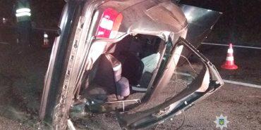 Водій BMW, яке вчора перекинулося в Коломиї, помер у лікарні. ФОТО