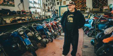 Мотоклуб серед гір: на Франківщині діє міні-музей старовинних мотоциклів та автомобілів. ВІДЕО