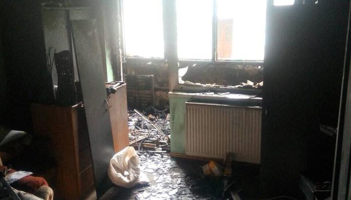 Небайдужих коломиян просять допомогти сім'ї військових, у яких згоріла квартира