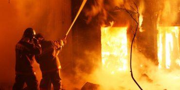 На Коломийщині через перегрів печі горіла господарська будівля