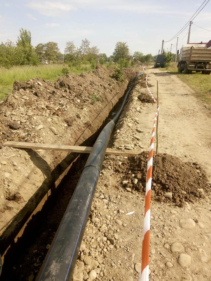 У Коломиї триває реконструкція водогону. ФОТОФАКТ