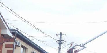 У Коломиї відновлюють вуличне освітлення. ФОТОФАКТ