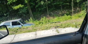 На Коломийщині зіткнулися два легковики: двоє людей у лікарні. ФОТО