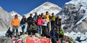 Прикарпатець піднявся до базового табору Евересту. ФОТО