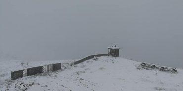 У Карпатах випав сніг. ФОТОФАКТ