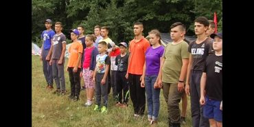 На Снятинщині розпочав роботу військово-патріотичний табір. ВІДЕО