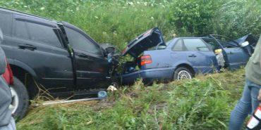 У Коломиї на об'їзній дорозі зіткнулися два автомобілі, є постраждалі. ФОТО