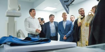 Коломия перша серед 13 міст запустила ангіограф – унікальний апарат для діагностики серцевих захворювань. ФОТОРЕПОРТАЖ