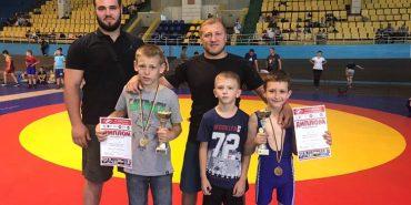 Юні борці з Коломиї посіли призові місця на турнірі у Львові. ФОТО