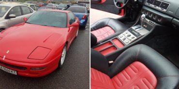 Ferrari неплатника аліментів продадуть за 2 мільйони. ФОТО+ВІДЕО