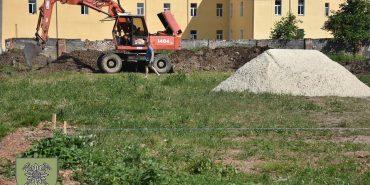 У Коломиї будують казарми покращеного типу. ФОТО
