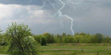 В Україну насуваються сильні дощі і грози