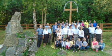У Печеніжині встановили хрест на місці хатчини, де народився Довбуш. ФОТО