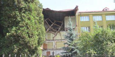 Ігор Слюзар прокоментував другий обвал коледжу в Коломиї. ВІДЕО